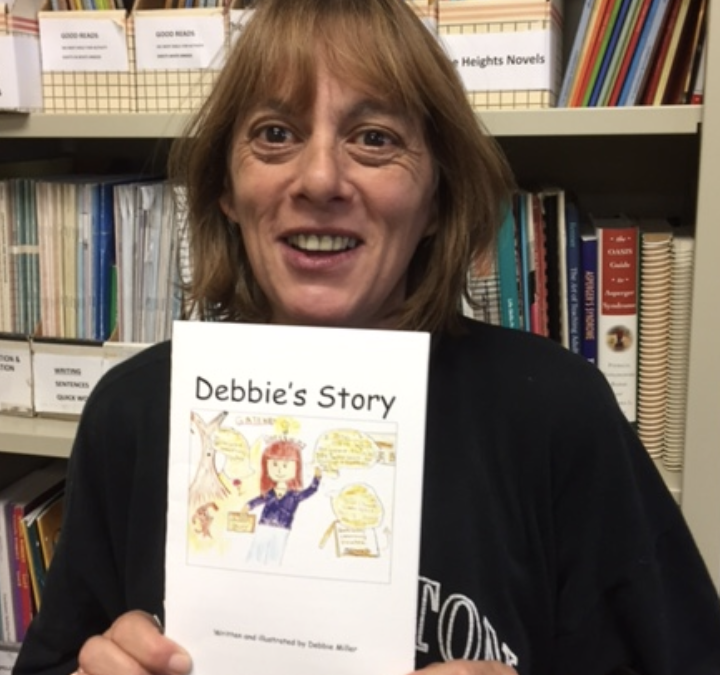 October Learner of the Month: Debbie