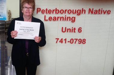 May Learner of the Month: Kathi